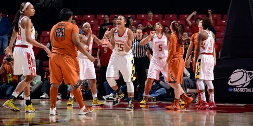 They did it again! The Terps' Women's Basketball team head to the Sweet Sixteen for the  third time in a row.
