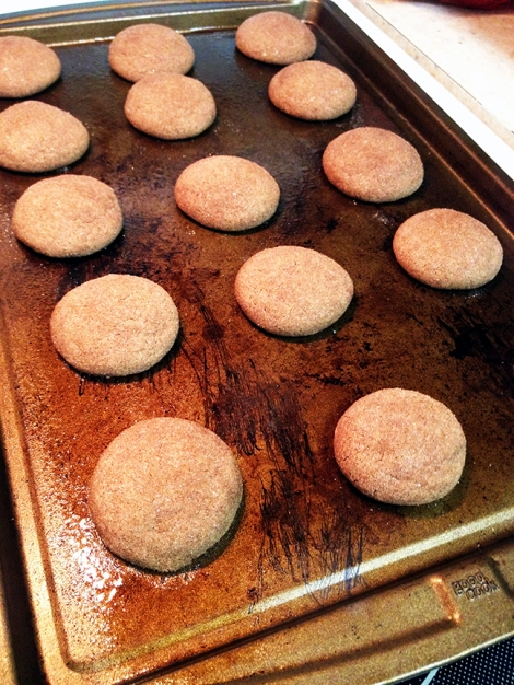 Far better than a snickerdoodle, these cookies just melt in your mouth.