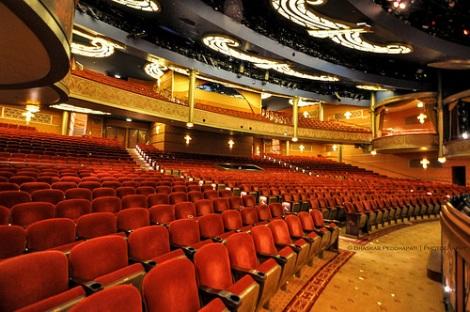 The Walt Disney Theatre on Disney Dream. Photo courtesy of Bhaskar Peddapati under a Creative Commons license