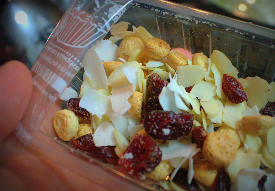 graze's raspberry and coconut muffin mix was oh so delicious!