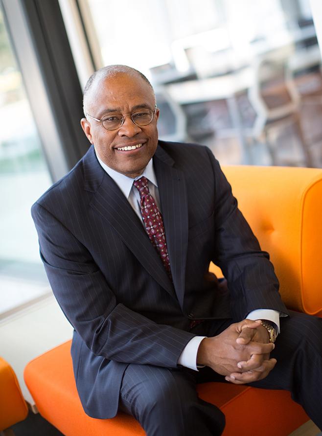 President Kurt Schmoke. Photo Courtesy of University Relations