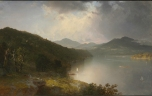 View on the Hudson by John Frederick Kensett