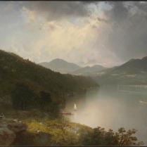View on the Hudson by John Frederick Kensett