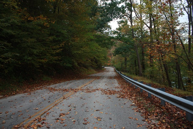 Loch Raven Drive is closed on the weekends
