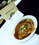 Osteria Marzano served these not-so-bite-sized-yet-scrumptious short rib ravioli.