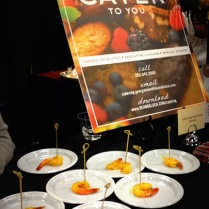 Dean & Deluca's chile lime marinated shrimp was also a hit.