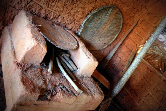 Clay oven used to cook Cassava bread