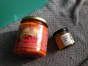 Monte Pollino Red Pepper Tapenade and La Bandita Di Daniela Mariotti Pear and Grappa Jam