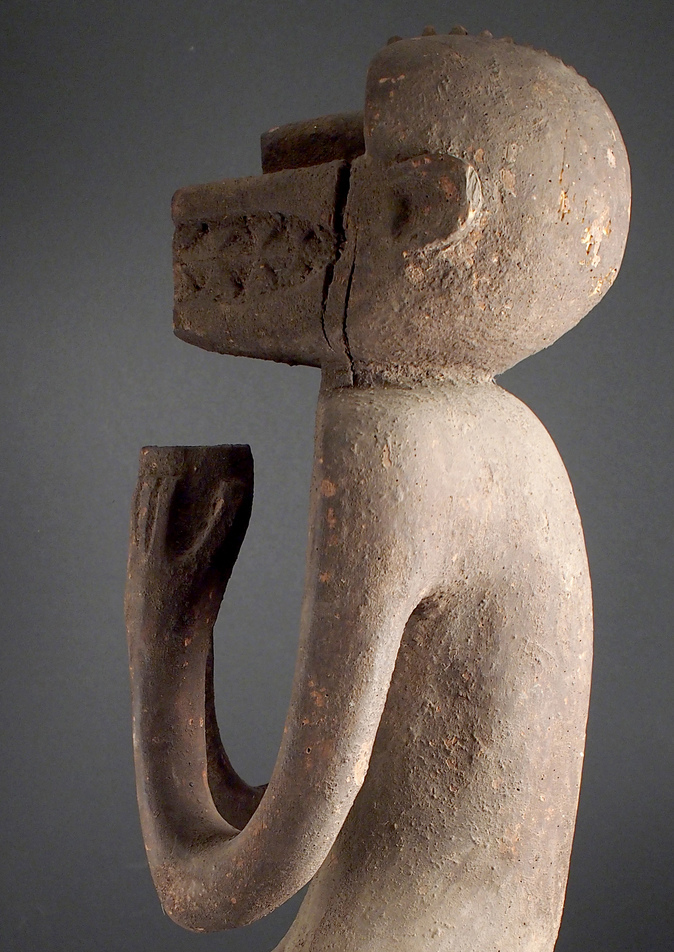 'Gbekre' monkey figure by the Baule People of Cote d'Ivoire. Photo courtesy of Ann Porteus, under a Creative Commons License