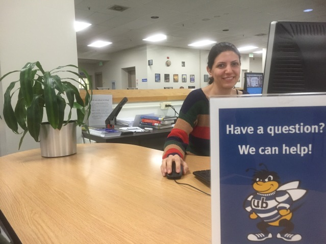Reference librarians will be available until 1 a.m. on Dec. 2 Photo Credit: Laura Melamed